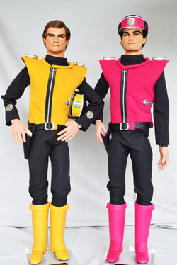 Captain Ochre and Captain Magenta