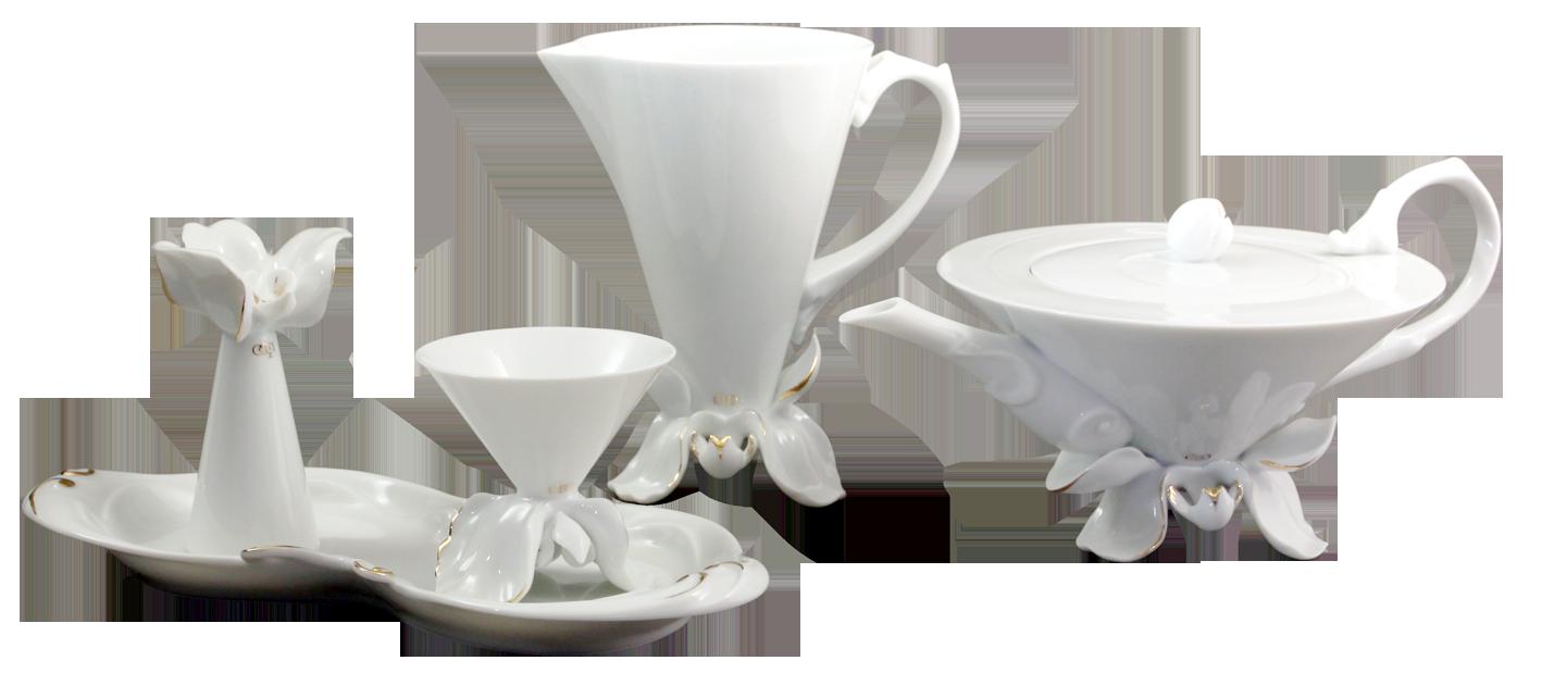山.茶.花茶具組 Orchid Tea Set