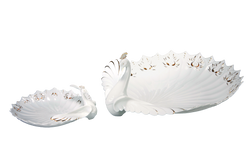 華舞雀屏盤Graceful Peacock Series - Plate
