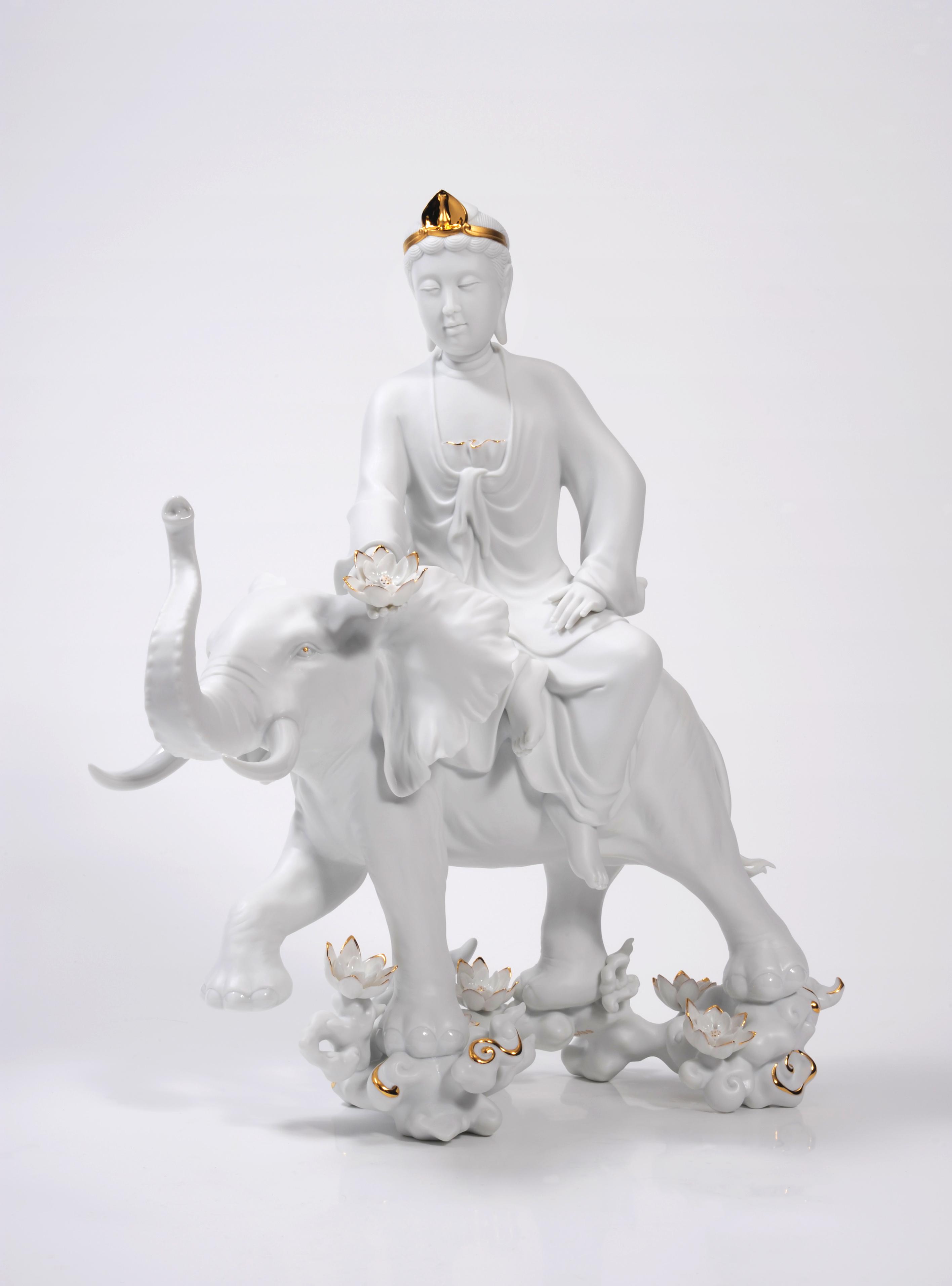 Pu Hsien Bodhisattva  華嚴三聖 - 行願
