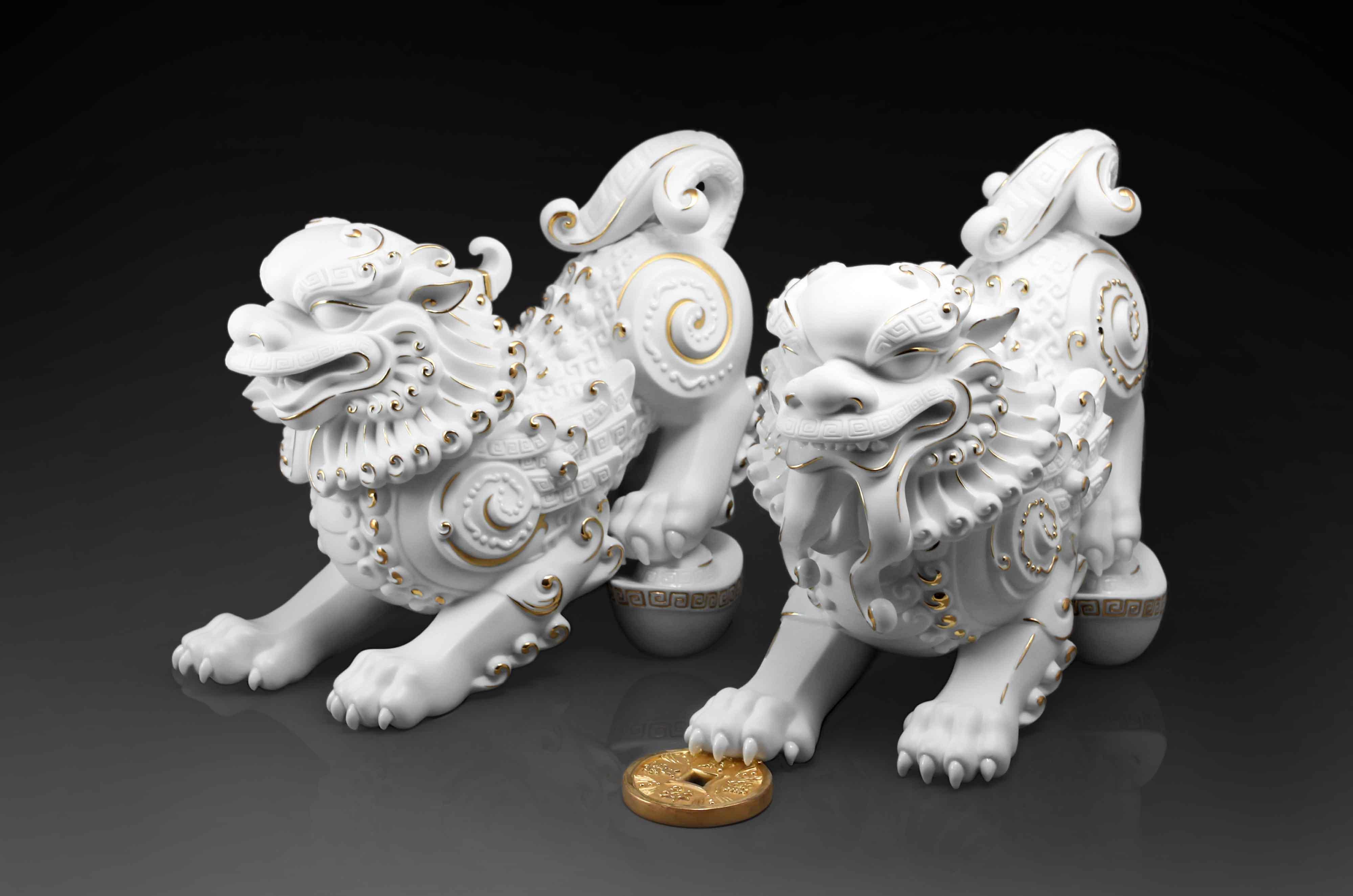 Beasts of Wealth 蟄伏守成  (貔貅)
