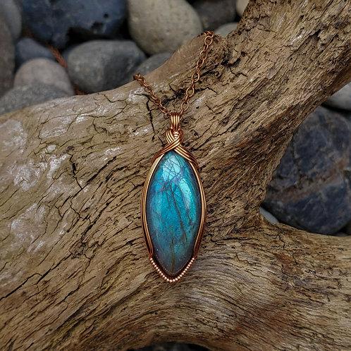 Labradorite +copper