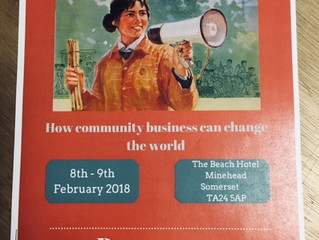Are we talking about a revolution? Reflections on the 2018 Community Business Symposiums