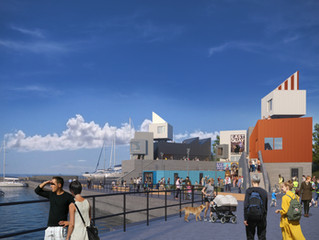 East Quay back on site