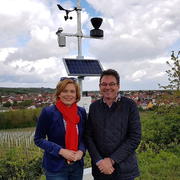 Julia Klöckner in Kallstadt