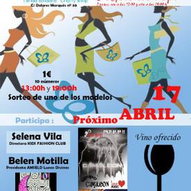 Programa 39 - 3er aniversario tienda Piel de Mariposa (Valencia) - Debra