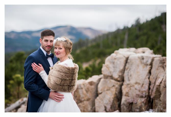 Robert & Alana {Custer State Park Wedding}