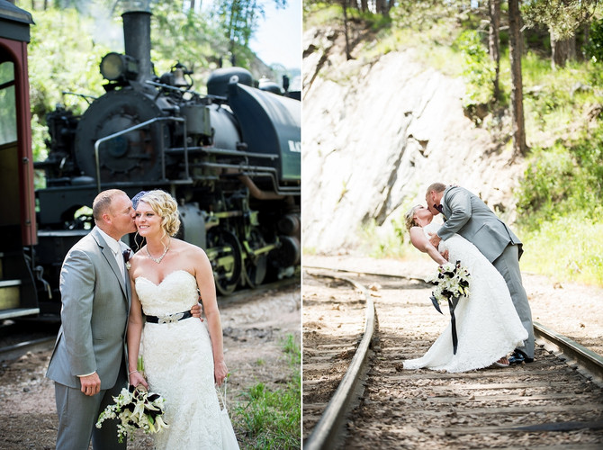Brad + Brittany {Black Hills Wedding at K Bar S Lodge}