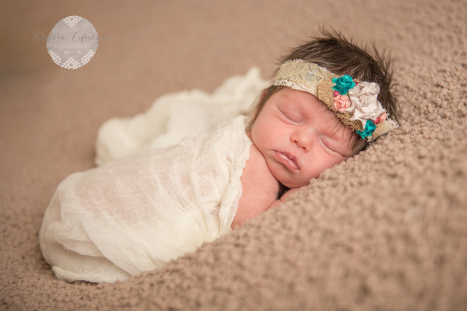 Sweet Baby L- Black Hills Newborn Photographer