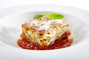 Traditional Homemade Italian Lasagna wit