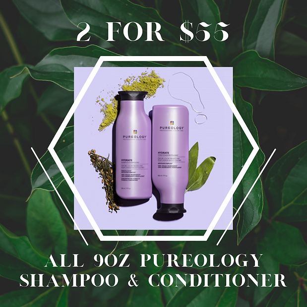 Copy of Offer valid on 9oz bottles of Pureology Shampoo & Conditioner only. Cannot be comb