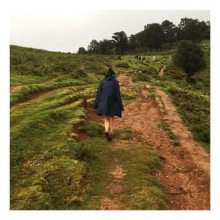 Première étape du GR10, Pays Basque oblige, la pluie s'invite.
