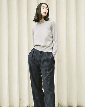 study34 knitwear-women-grey-alpaca-jumpe