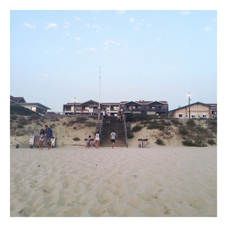 De Biscarosse plage à Mimizan
