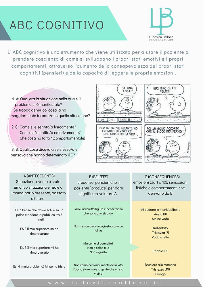 Psicoterapia cognitivo comportamentale Ancona Castelfidardo