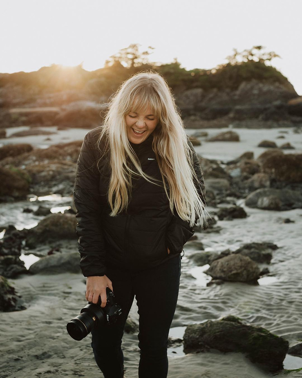 Bryanna Bradley, fotojornalista e fotógrafa de surf canadense
