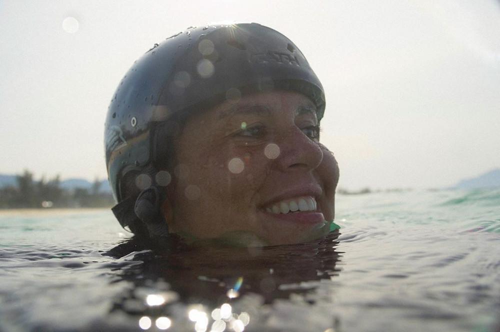 Anna Veronica, fotógrafa de surf e cineasta carioca
