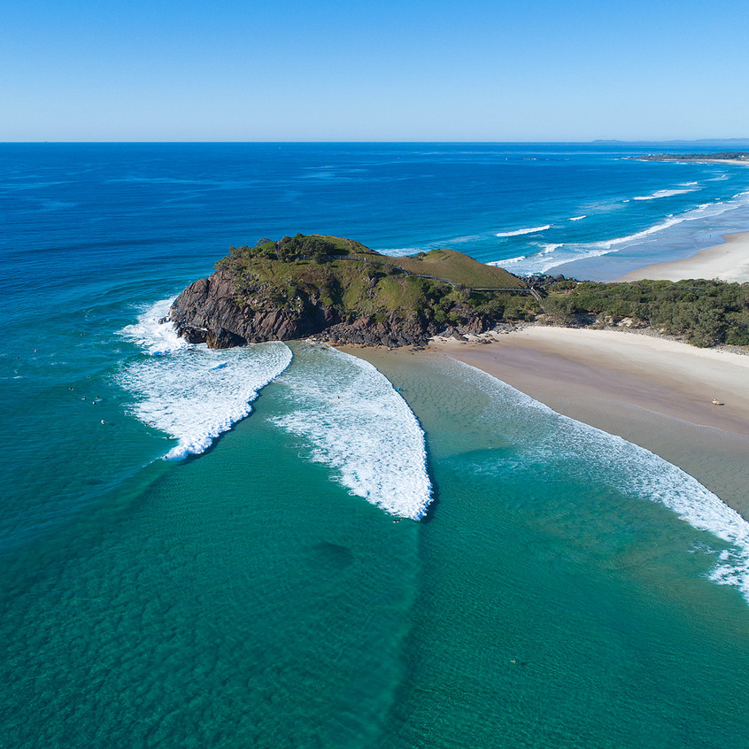 A praia de Cabarita I Foto: WSL