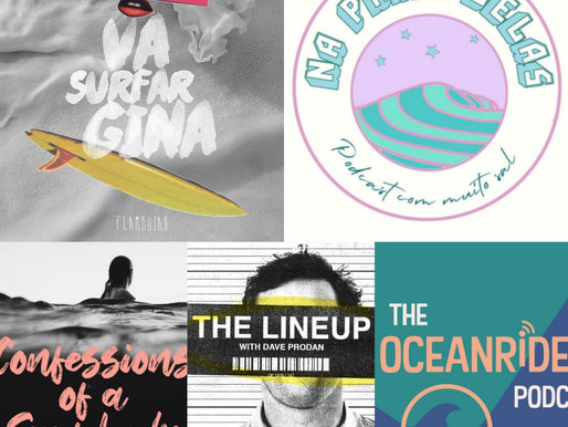 5 podcasts sobre surf para você acompanhar