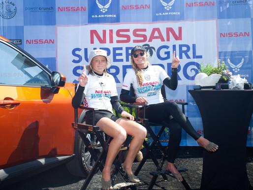 Lakey Peterson e Caitlin Simmers ganham o Nissan Super Girl Surf Pro