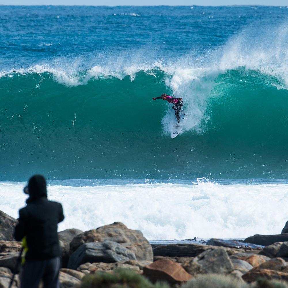 A surfista australiana Tyler Wright, presença confirmada no Australian Gram Slam da WSL