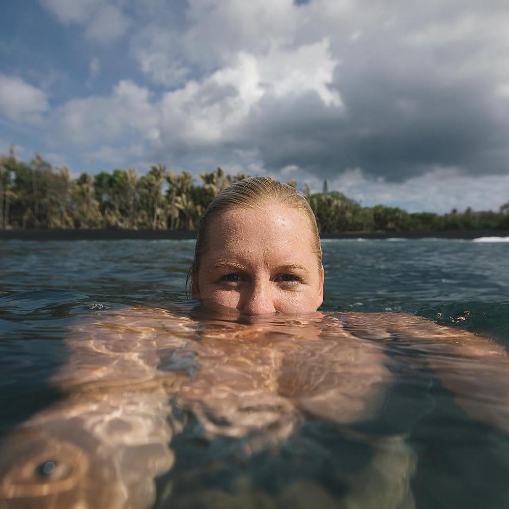 Sarah Lee, fotógrafa de surf havaiana
