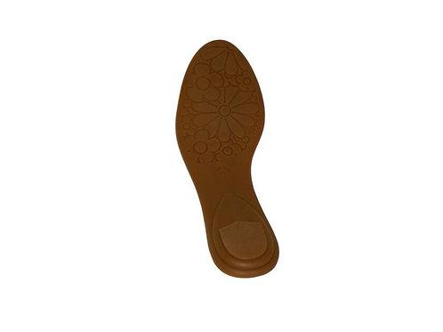 Solado p/ sapatilha bico redo/inf TR com palmilha