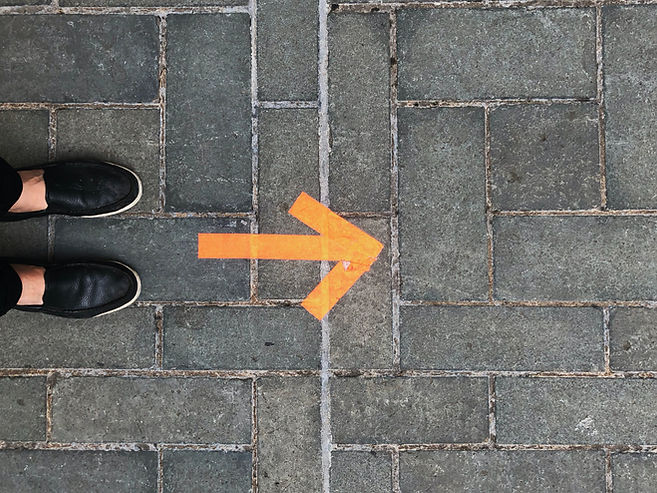 Prendre une direction