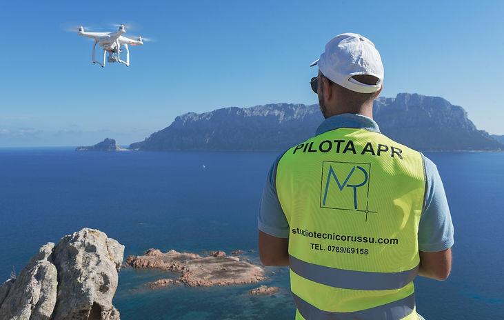 Pilota APR | Pilota Drone | Aerofotogrammetria | rilievo col drone | nuvola di punti | video4K | Russu | Olbia | Costa Smeralda |