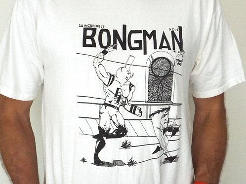 Bongman #2 Cover Shirt -White