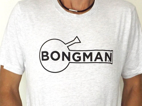 Bongman Logo Shirt - Gray