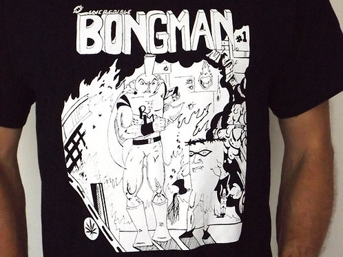 Bongman #1 Cover Shirt - Black