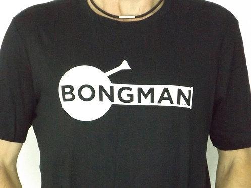 Bongman Logo Shirt - Black
