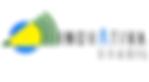 #pracegover: logotipo inovativa, programa de startups do governo federal, símbolo estilizado com traços da bandeira