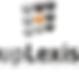 #pracegover: logotipo empresa escrito uplexis, formado por bolas cinzas, pretas e uma laranja a centro