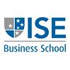 #pracegover: logotipo universidade ISE business school, com brasão cinza e azul