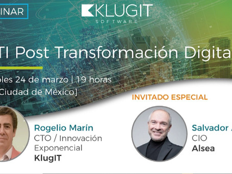 [Video] Webinar La TI Post Transformación Digital
