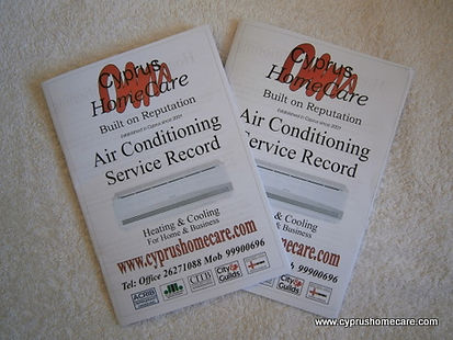 "alt=""Cyprus HomeCare Full Servicing Record Books"""