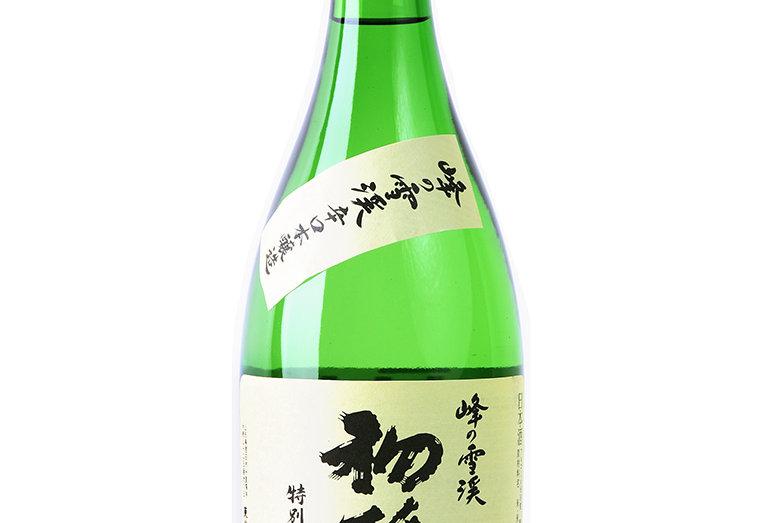 初孫 峰の雪渓 特別本醸造