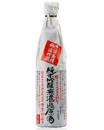越の磯 純米吟醸無濾過原酒 #5223
