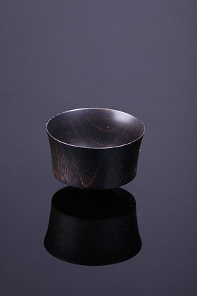 露路 黒 木器杯 122418911