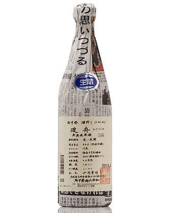 渡舟 ふなしぼり 純米吟醸無濾過原酒