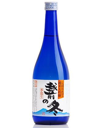 越前の冬 榨り立て 純米大吟釀生酒