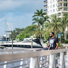 photoshoot in down town Fort  Lauderdale