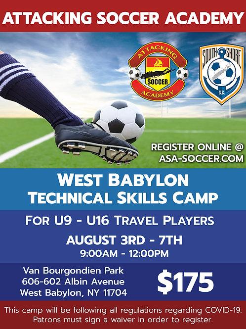 West Babylon Technical Skills Camp