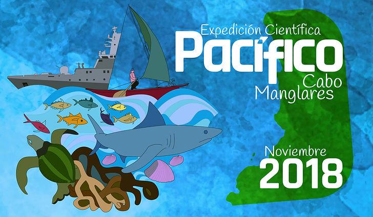 La Primera Expedición cientifica al Pacífico Colombiano, en el 2018 se desarrolló en Cabo Manglares.