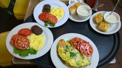 Breakfast Omelets, etc
