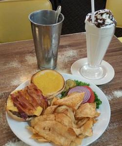 Burger, Fries & Shake