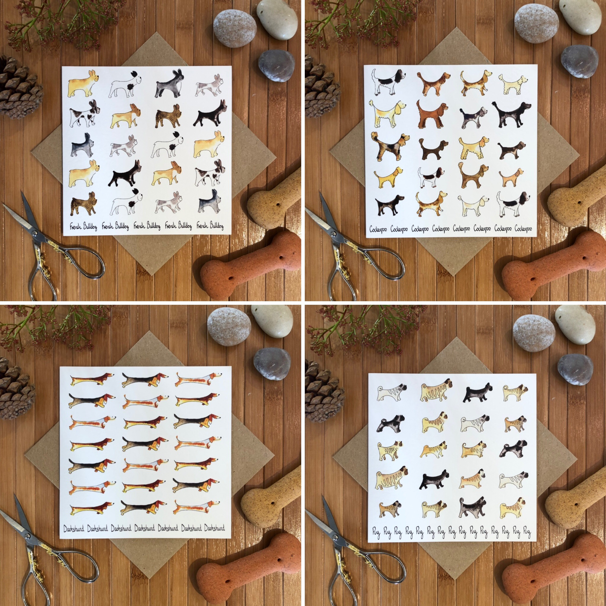 Dog Breed Cards
