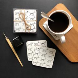 Dalmatian coasters